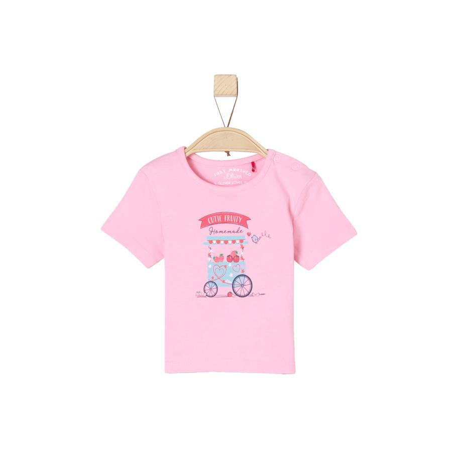 s.Oliver Girl s T-Shirt lichtroze