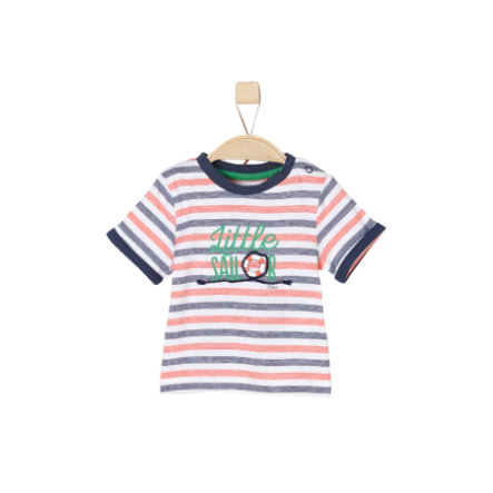 s.Oliver Boys T-Shirt rayures blanches