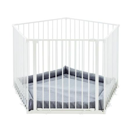 Baby Dan® Park-A-Kid Lekegrind i Hvit