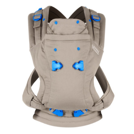 we made me Draagzak Pao Papoose Classic beige/blauw