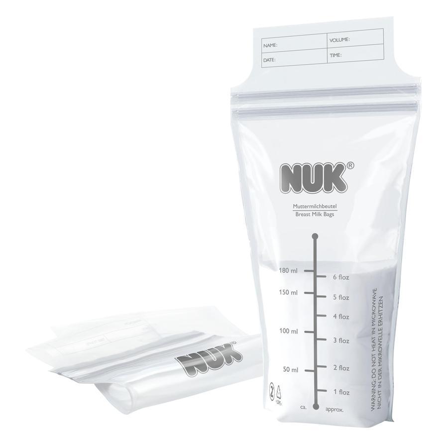 NUK Muttermilchbeutel 25 Stück à 180ml