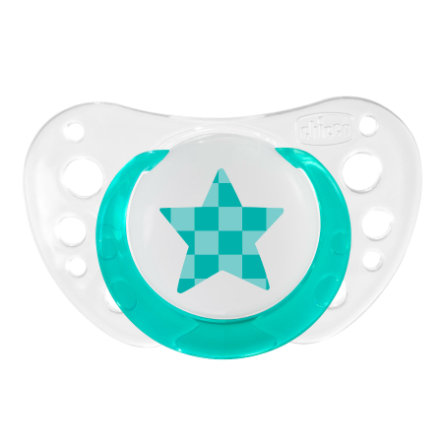 CHICCO ''Physio Air'' Pacifier, Glow, 4m+, Silicone
