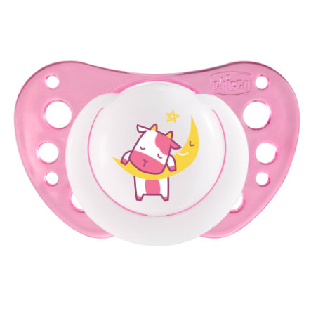 CHICCO ''Physio Air'' Pacifier, Glow, 12m+, Silicone