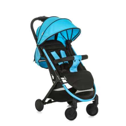 hauck Buggy Swift Plus neon blue/caviar