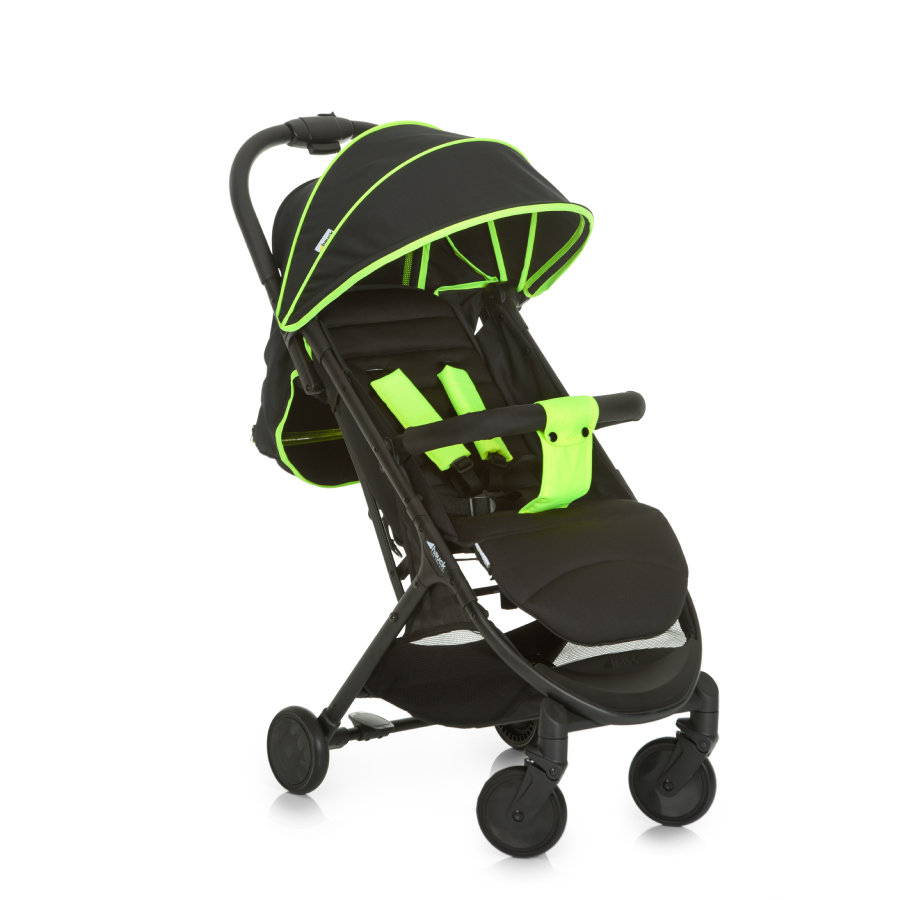hauck Silla de paseo Swift Plus neon yellow/caviar