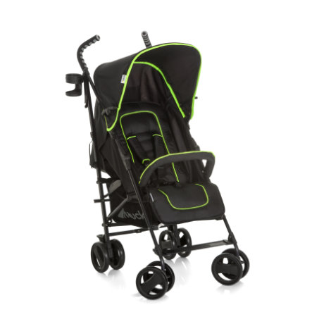 hauck Buggy Speed Plus S caviar/neon