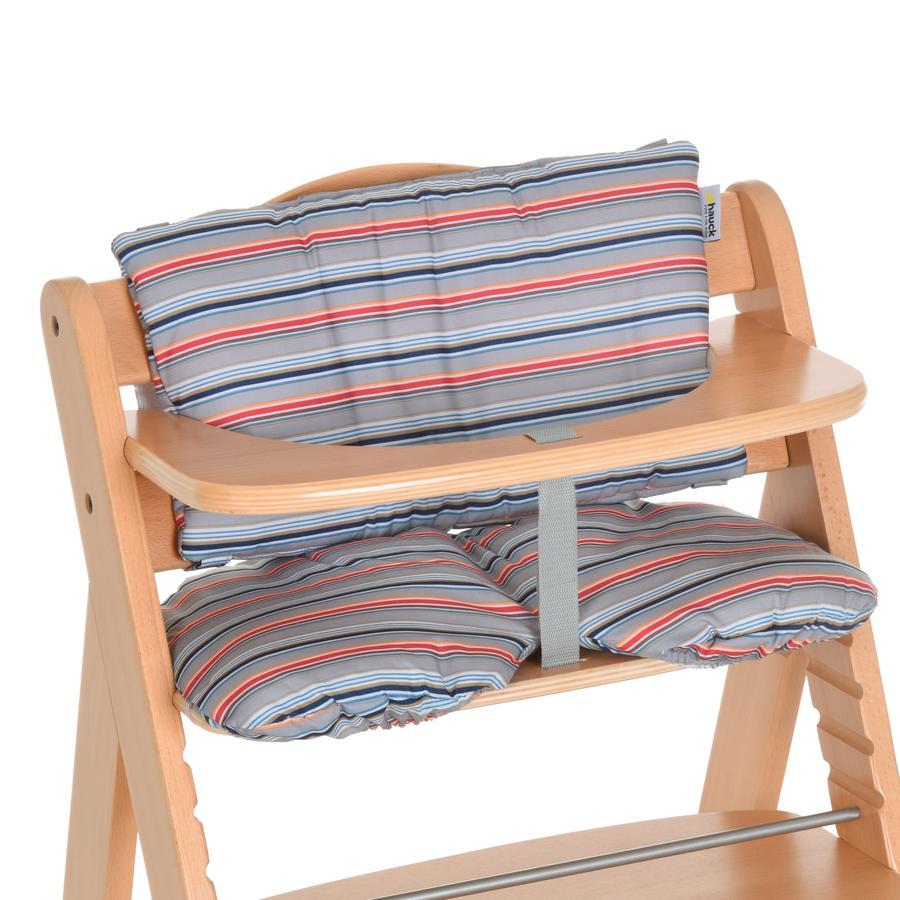 hauck r ducteur d 39 assise chaise haute multi stripe gris. Black Bedroom Furniture Sets. Home Design Ideas