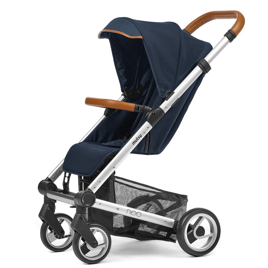 mutsy kinderwagen nexo blue melange. Black Bedroom Furniture Sets. Home Design Ideas