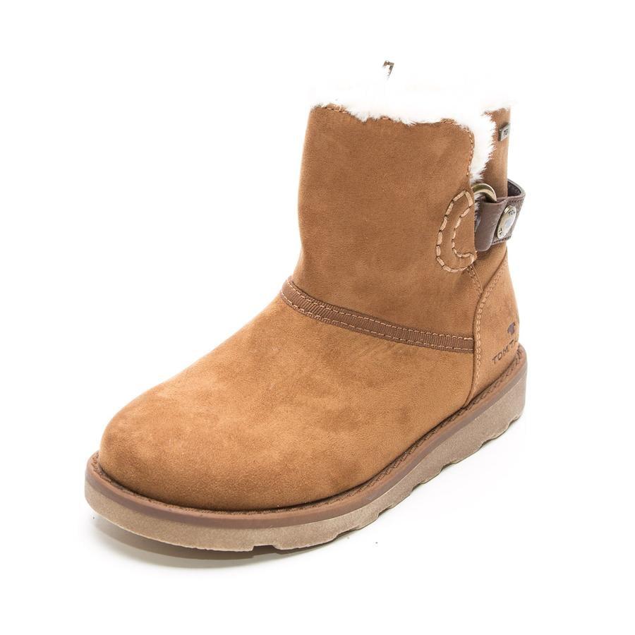 hot sale online 8a64c 139c0 TOM TAILOR Girls Stiefel camel