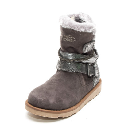 TOM TAILOR Girl s Botas gris brillante