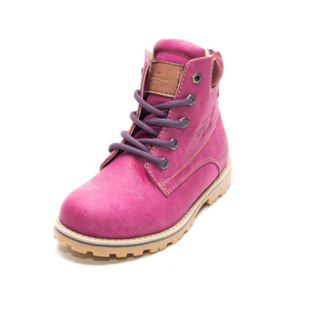 TOM TAILOR Girls Stiefel Emblem berry