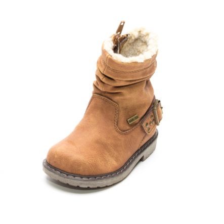 Be Mega Girls Stiefel Nieten camel