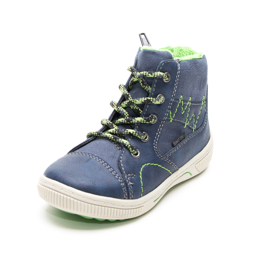Be Mega Girls Sneakerstiefel night-lime