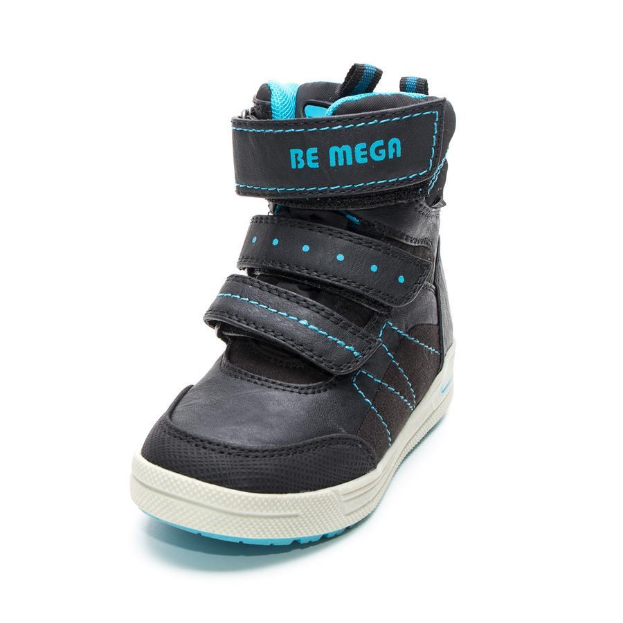 Be Mega Boys Boots Emblème noir