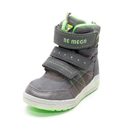 Be Mega Boys Stiefel Emblem coal