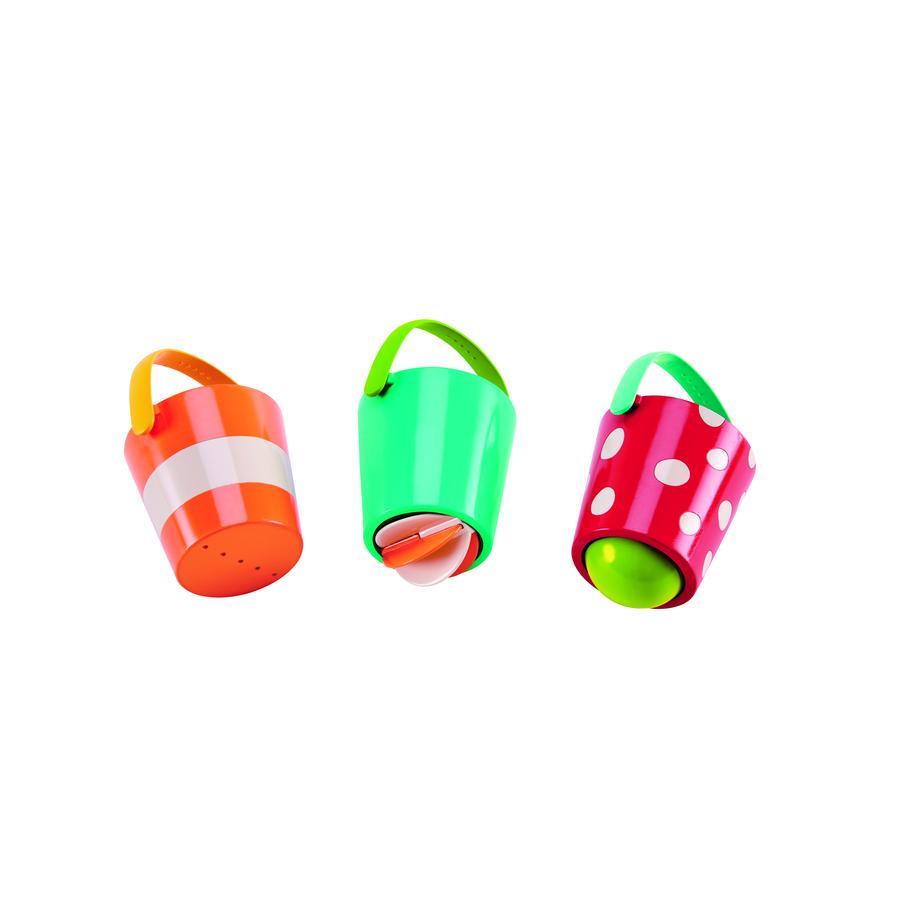 Hape Jouet de bain Seaux multicolores E0205