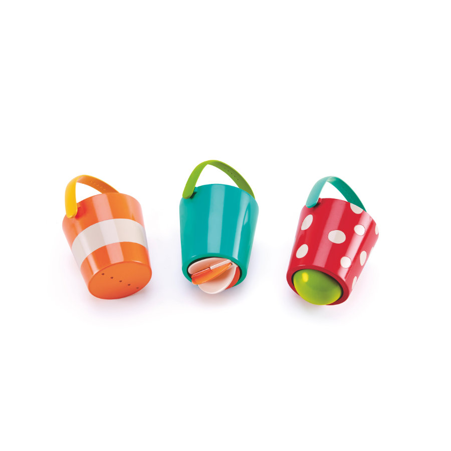 Hape Zabawka do wody kolorowe wiaderka E0205