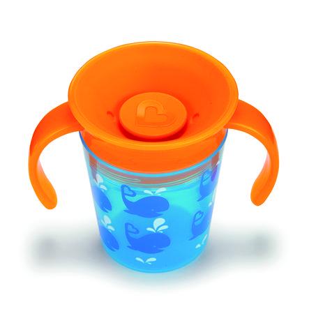 munchkin Miracle® 360° Cup blau / orange Trinkbecher 177 ml