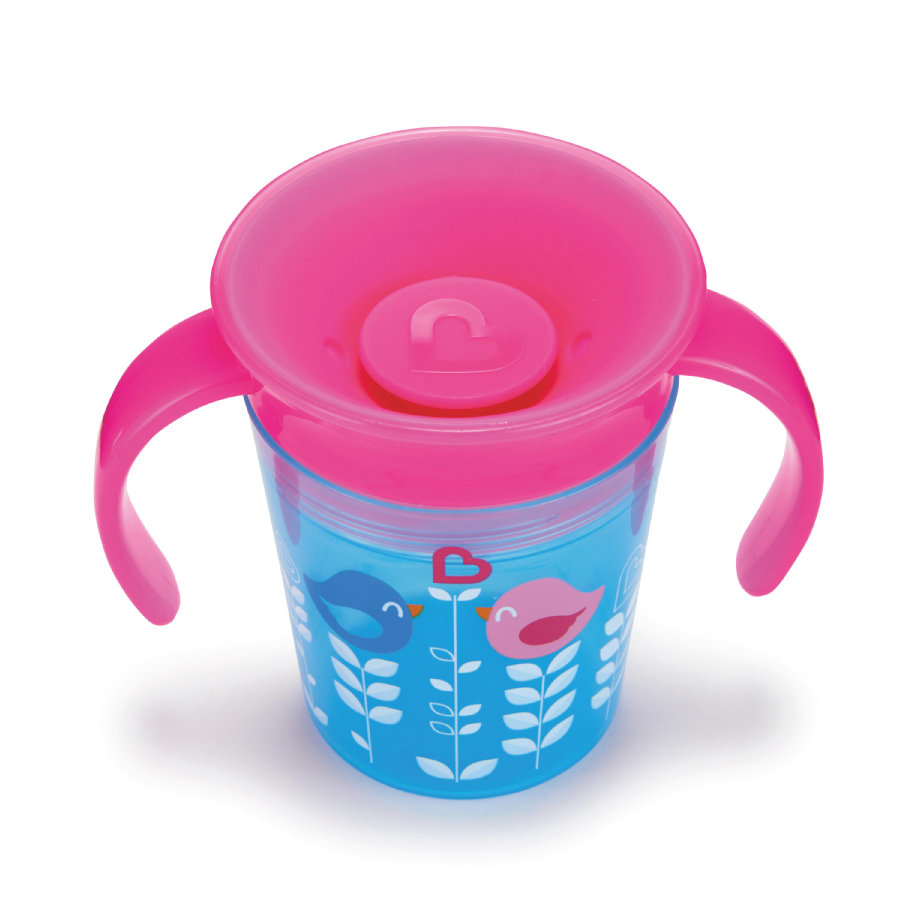 munchkin Miracle® 360° Cup Drinkbeker 177 ml Girl pink/blauw