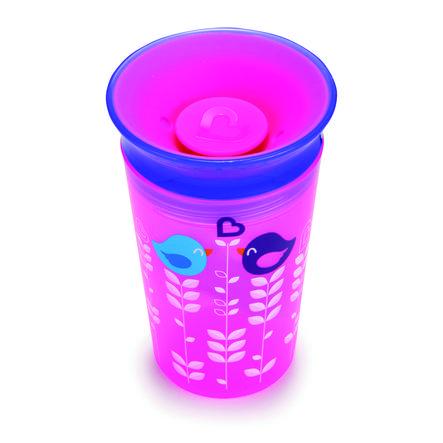 munchkin Miracle® 360° Cup pink / lila Trinkbecher 266 ml