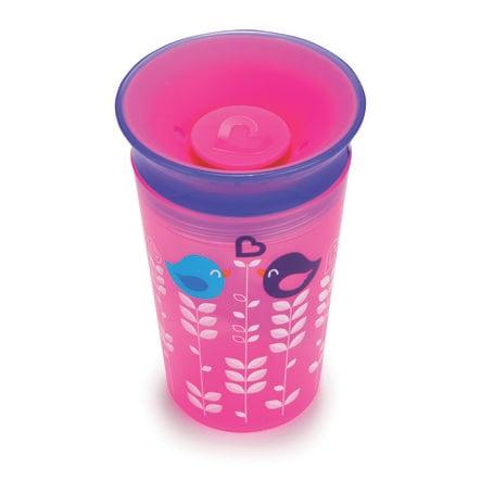 munchkin Miracle® 360° Cup Träningsmugg 266 ml pink/lila