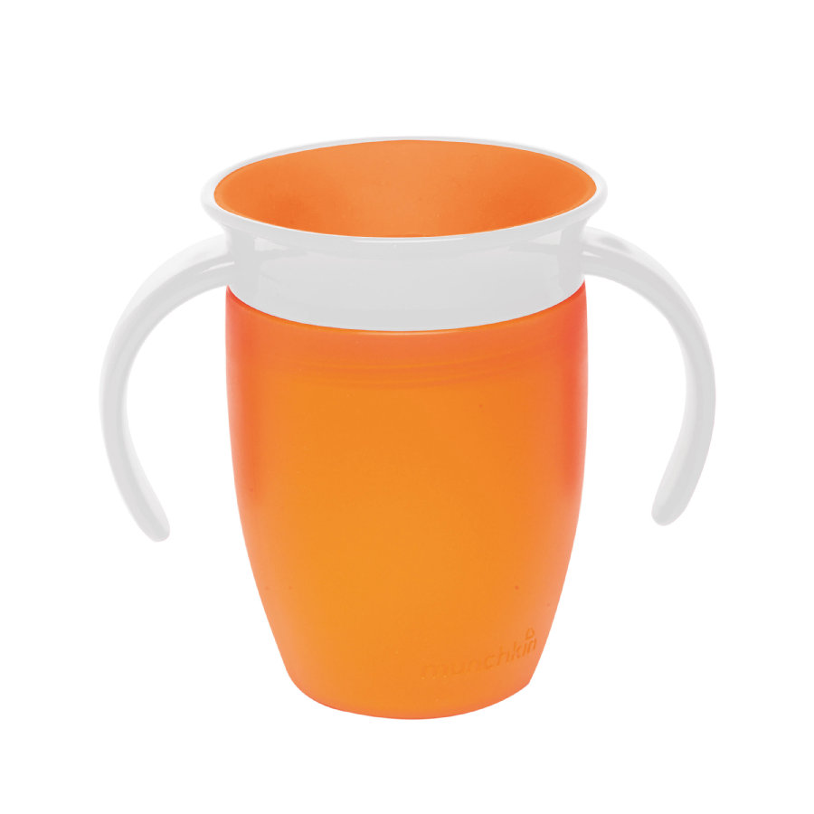 munchkin Miracle® 360° Cup orange Trinkbecher 207 ml