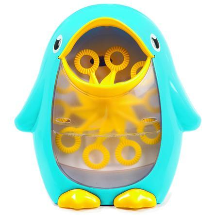 munchkin Seifenblasen-Pinguin blau