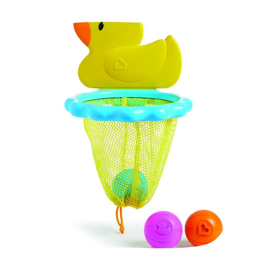 munchkin Duck Dunk ™ basketbalmand met eend voor in bad