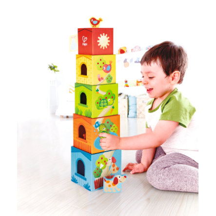 Hape Pepe & Friends Stapelturm E0451