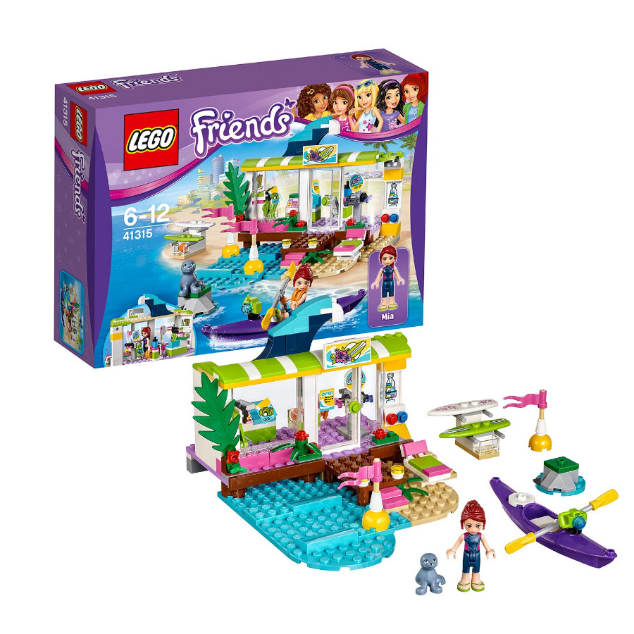 LEGO® Friends - Heartlake Surfladen 41315