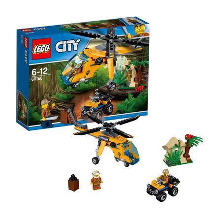 LEGO® City Dschungel - Dschungel-Frachthubschrauber 60158