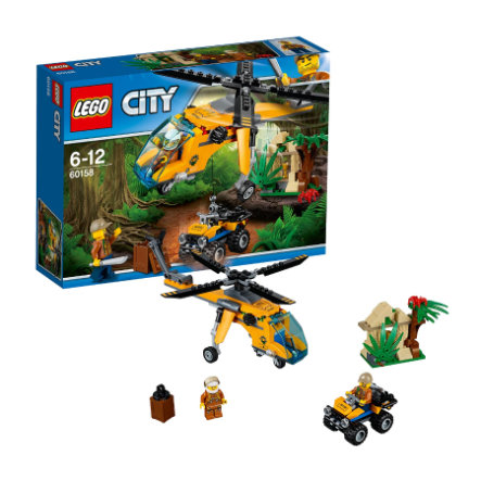 LEGO® City Jungle - Junglefragthelikopter 60158