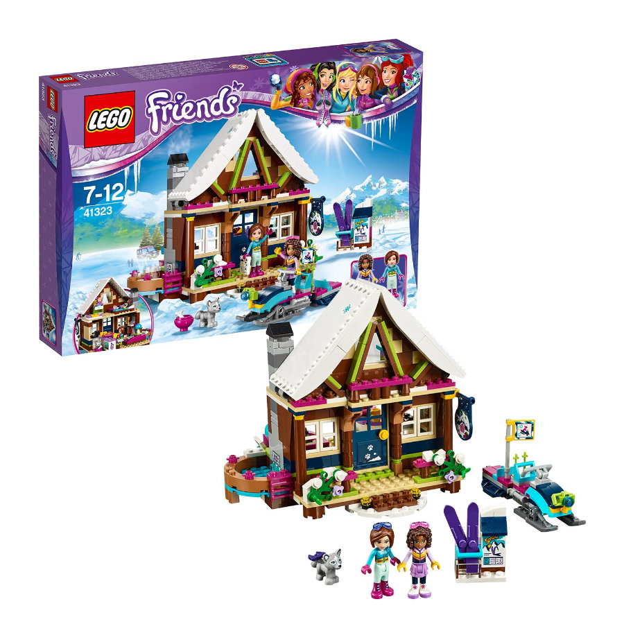 LEGO® Friends - Chalet im Wintersportort 41323