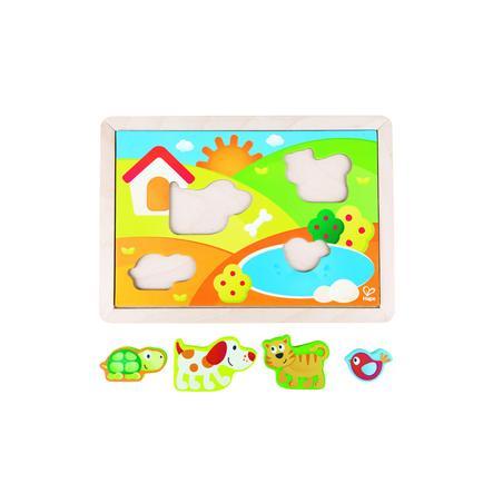 Hape Pepe & Friends Sonnental Puzzel E1601
