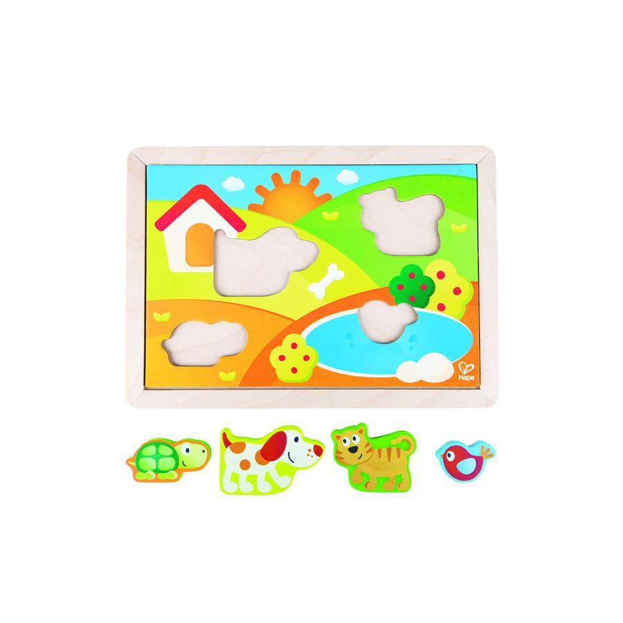 Hape Pepe & Friends Puzzle valle del sole E1601