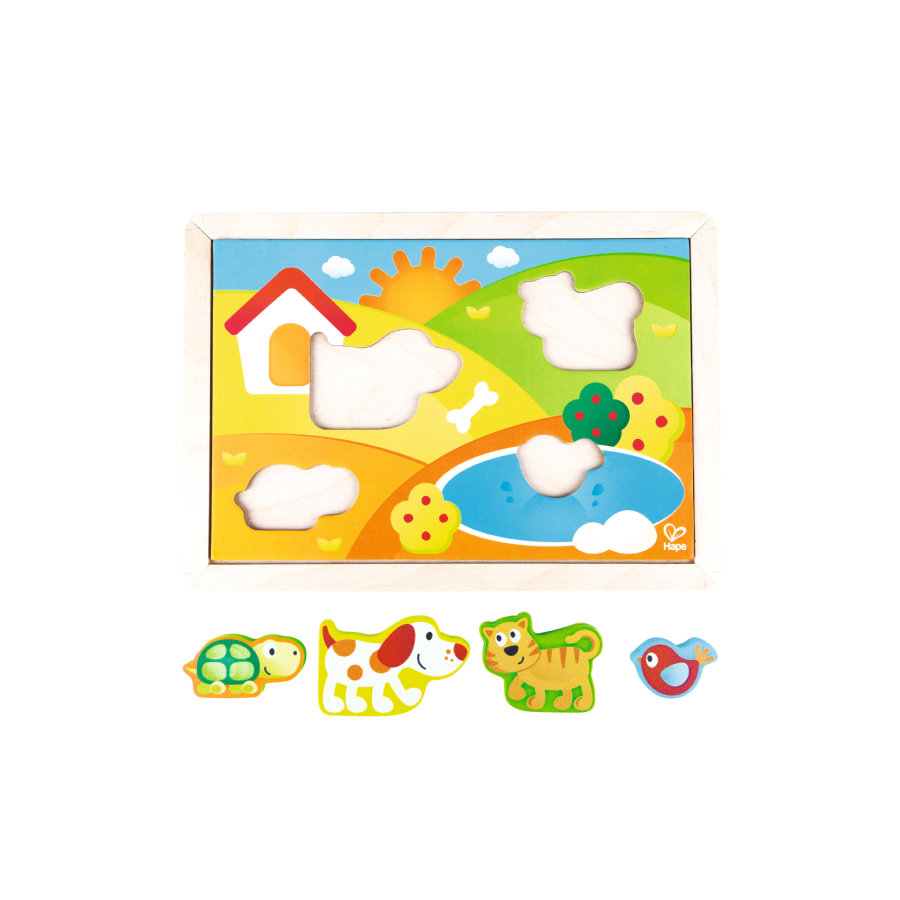 Hape Pepe & Friends Sonnental Puslespil E1601