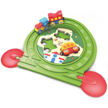 Hape Puzzle de rails de train E3819
