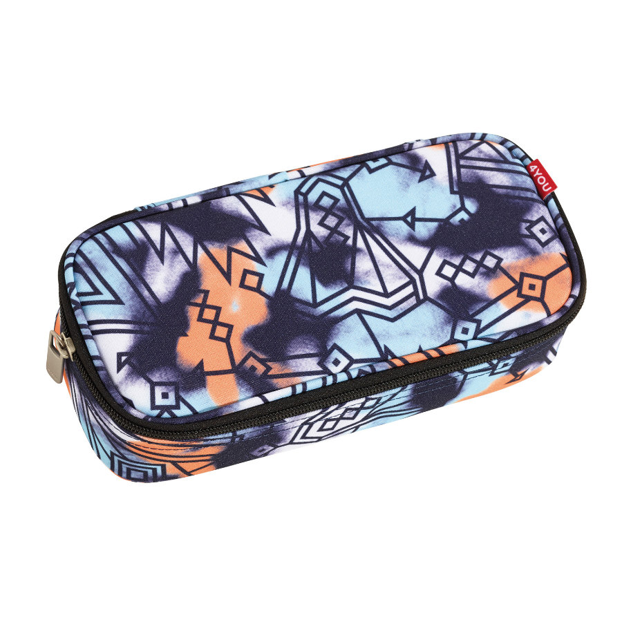 4YOU Jump Pencil Case + Geodreieck 894-00 Graphic Spray