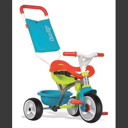 Smoby Be Fun Komfort Rowerek trójkołowy, niebieski