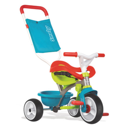 Smoby Tricycle enfant Be Move Confort, bleu