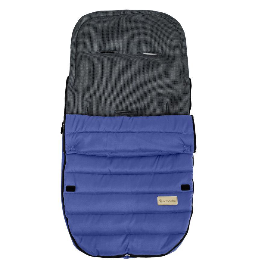 Altabebe Sommerfußsack Mesh für Buggy hellblau