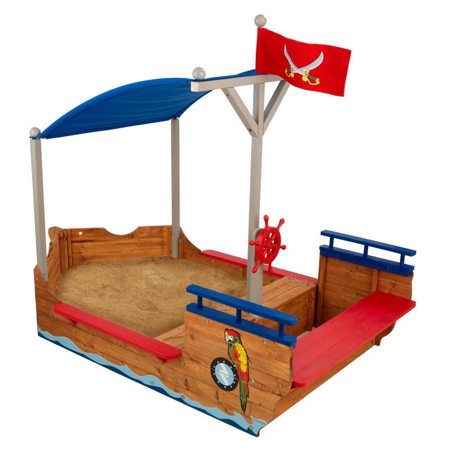 Kidkraft® Cajón de arena barco pirata