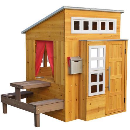 Kidkraft® Maison cabane de jardin enfant moderne bois