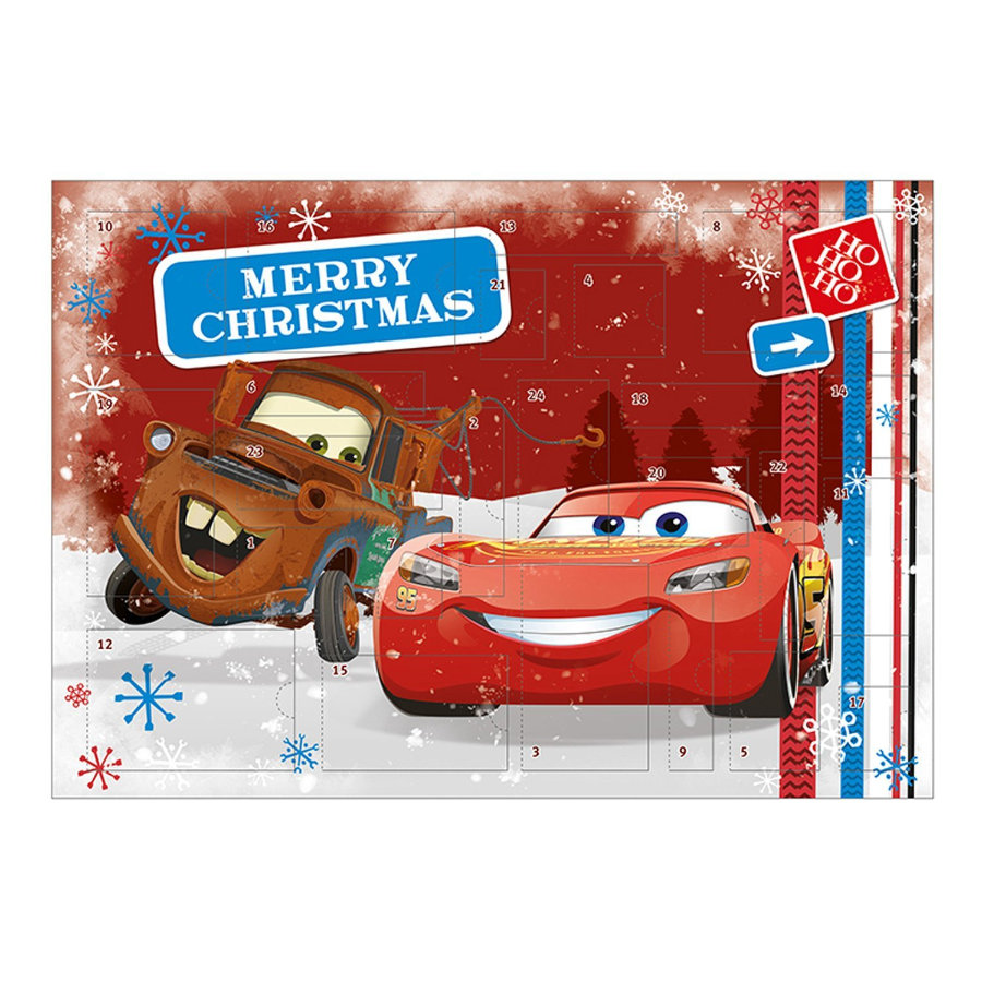 UNDERCOVER Adventskalender  Cars