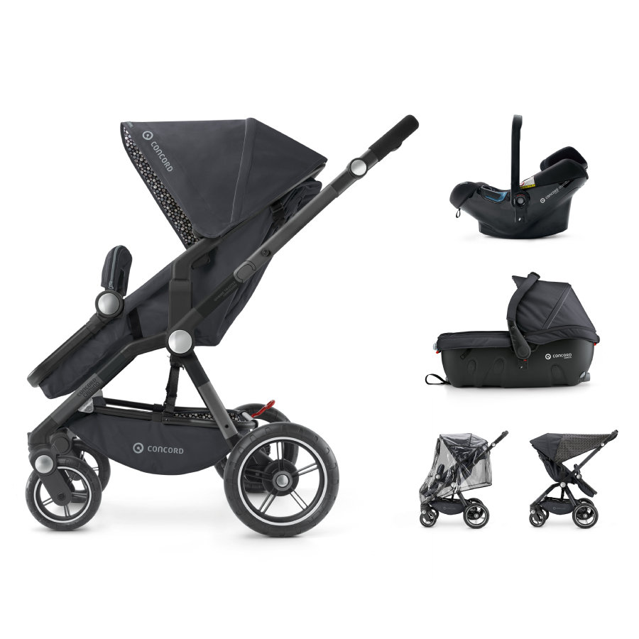 CONCORD Kinderwagen Camino Travel-Set Cosmic Black