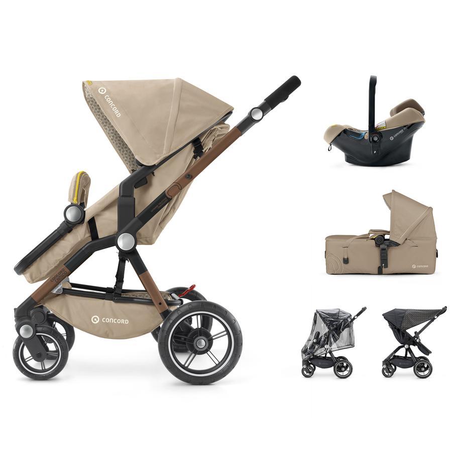 CONCORD Kinderwagen Camino Mobility-Set Powder Beige