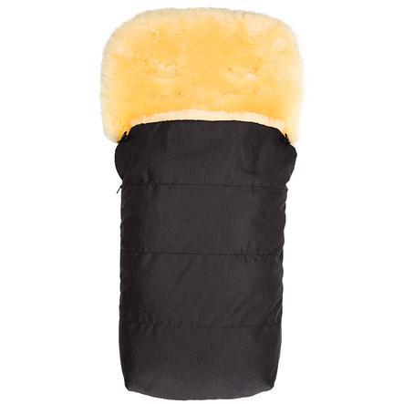 fillikid Fusak z jehněčí kožešiny Grönland melange džínový černý