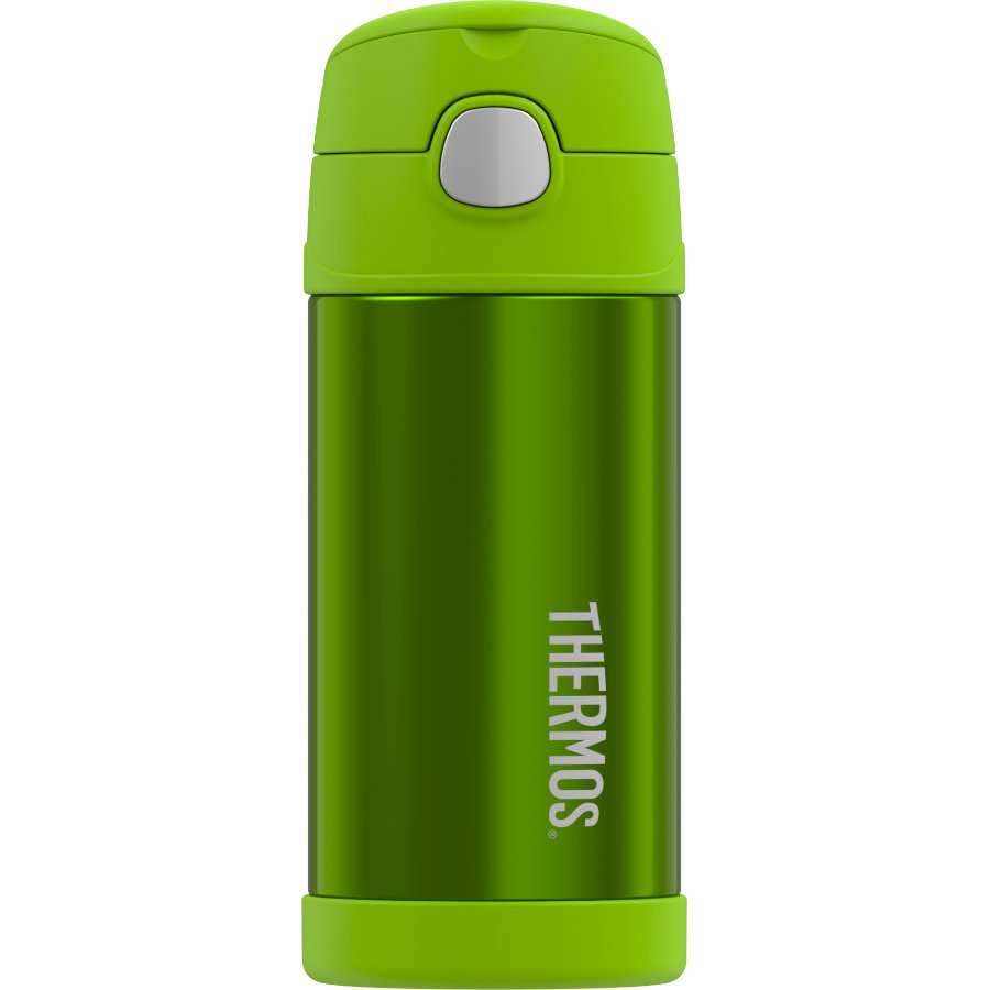 ALFI Trinkflasche FunTrainer 0,35l Design grün