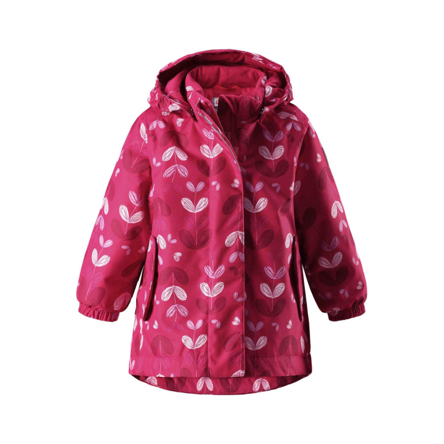 reima Girls Winterjacke Ohra berry