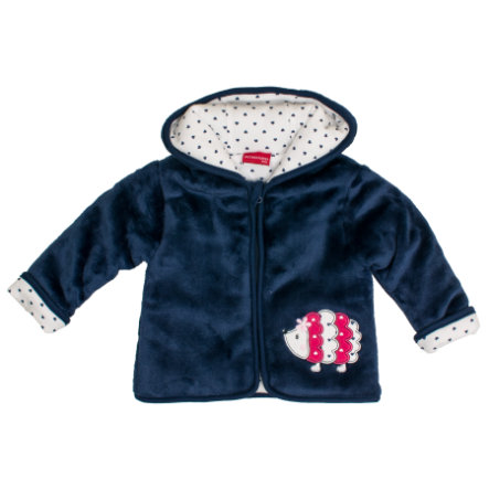 SALT AND PEPPER Fleecejacke Happy Plüsch navy blue
